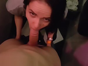 Hot naughty quickie in the night overcome