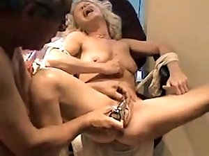 This lewd blonde loves her rabbit vibrator and her wet pussy is a difficulty proof