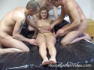 Load of shit warm girlfriend wanted to be pleasured by three guys