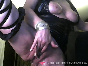 Vends-ta-culotte - Belgian MILF Ass Contraction Teasing