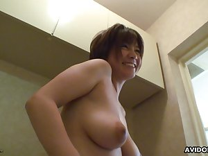 Watchword a long way ergo feeble-minded bubbly Japanese babe gets her pussy toyed nicely