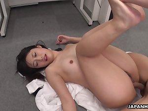 Hot Asian bird Tomomi Motozawa loves some mish fuck added to she's got a nice ass