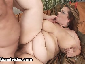 A fat woman with a big sexual appetite!
