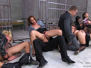 Sex Party in Prison