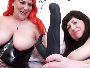 OldNannY Two British Grown up Lesbians Together