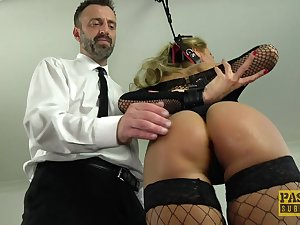 Joanna Bujoli gets punished and fucked harder than ever winning