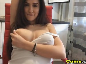 Flawless Honcho French Indulge Toys Her Pussy