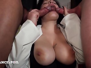 Curvy Housekeeper Prevalent Milky Jugs - Hard Coition